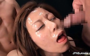 Wicked asian floozy gets sexually excited