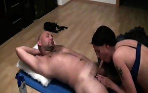 Ex poll dancing getting ass fucked by her boss