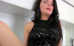 Entrancing Milana imagines that she demands to have a..