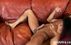 Naughty Japanese girl Katsuni gets fucked one time greater..