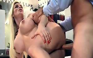 Hot MILF drilled by game show host