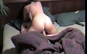 cheating milf Sandy cumming on my cock