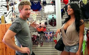Smoking hot milf walks into a dressing shop only to be..