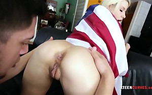 Hawt ass Anikka Albrite drilled up hard and jizzed on