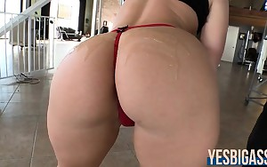 Perfectly shaped butt Kimmy Olsen gets her tight butt rammed