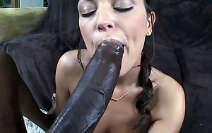 Massive pecker drills the moist love tunnel