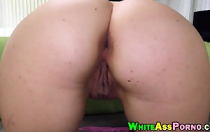 Large ass bitch Nikki Lavay fur pie fucked by big wiener