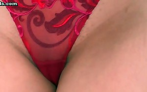 Oriental babe gets butthole pleasured