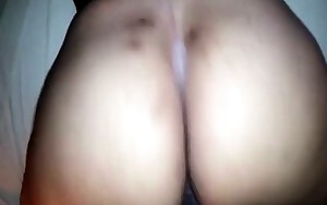 Twerking on my cock is hot and she loves doing it