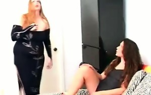 Phat brunette hair hoe gets spanked hard