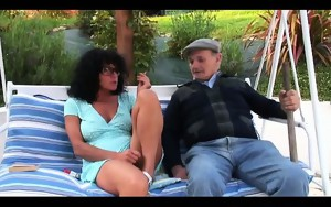 coarse anal fuck and fisting gangbang with our voyeur papy